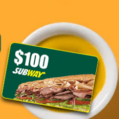 free subway voucher