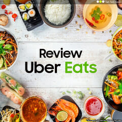 Review a Free Uber Eats