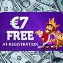 Get $7 Free No Deposit Bonus!