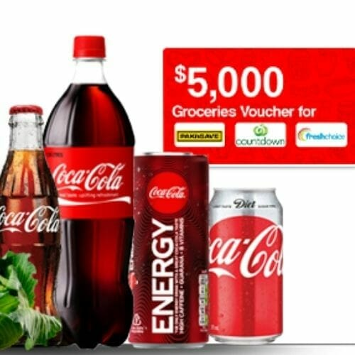 Test Coca Cola and Win a Grocery Voucher Worth $5000