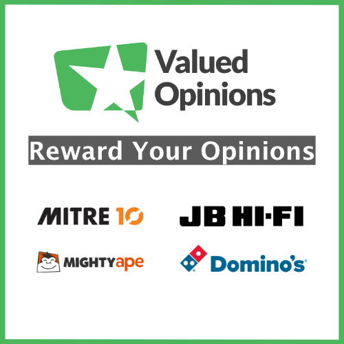 Free vouchers with Valued Opinions
